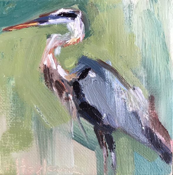 Heron on Green